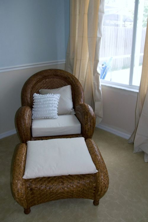 Bedroom after chair